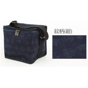 〔zu〕 (F, 紋柄(紺)「LaLakoto SAGARU BAG 保冷バッグ」 保冷バッグ お出掛けバッグ おしゃれ 和柄