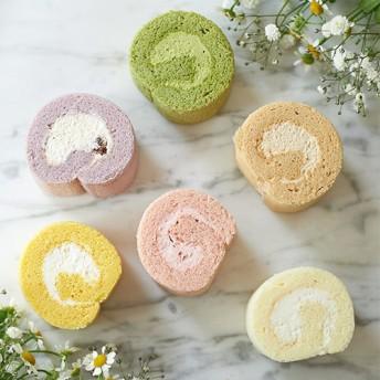 【日比谷花壇】ヒビヤカダンスイーツ「お花畑のロールケーキ」