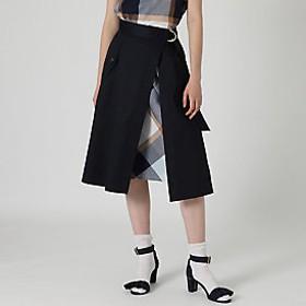 【ブルーレーベル・クレストブリッジ 】クレストブリッジチェック3WAYスカート