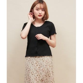 RETRO GIRL ワッフル2WAY Tシャツ レディース