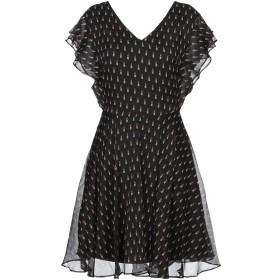 《セール開催中》GUESS レディース ミニワンピース&ドレス ブラック XS ポリエステル 100%