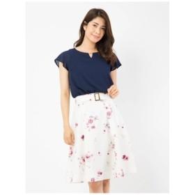 Fabulous Angela(ファビュラスアンジェラ)オリジナルフラワーバックルベルト付きスカート