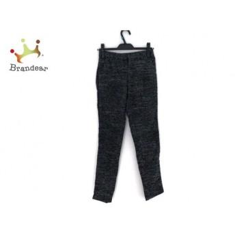 ジャスグリッティー JUSGLITTY パンツ サイズ0 XS レディース 黒×グレー 新着 20190722