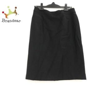ニジュウサンク 23区 スカート サイズ40 M レディース 美品 黒 新着 20190722