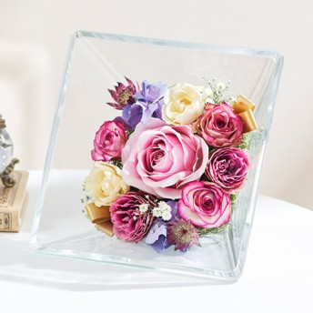 【日比谷花壇】ドライフラワー「エテルネルフルール・デタント」