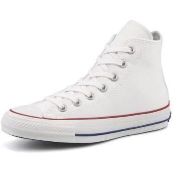 スニーカー - ASBee converse(コンバース) ALL STAR 100 HUGEPATCH HI(オールスター100ヒュージパッチハイ)1CL225 ホワイト【レディース】