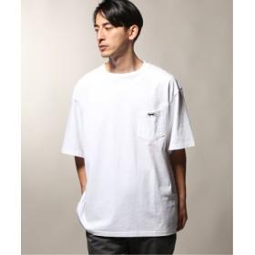 (JOURNAL STANDARD/ジャーナルスタンダード)PENNYS× relume 別注 1 POINT LOGO Tシャツ/メンズ ホワイト