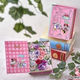 【日比谷花壇】ディズニー フラワーブック「ミニー&デイジー スイーツショップ」