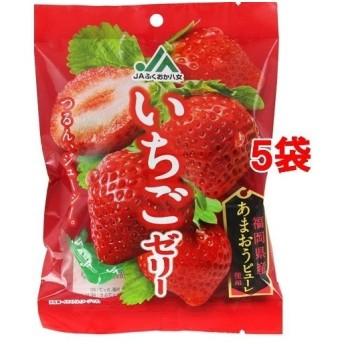 モントワール JAふくおか八女 いちごゼリー ( 22g6個5袋セット )