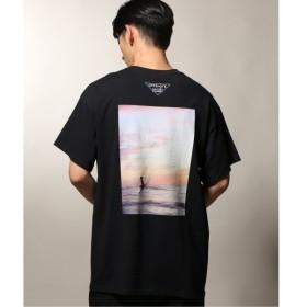 [マルイ]【セール】メンズTシャツ(OFFSHORE×U-SKE / オフショア SEA サンセットTシャツ)/ジャーナルスタンダード レリューム(メンズ)(JOURNAL STANDARD relume)