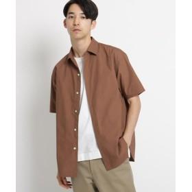ドレステリア タイプライタークロスシャツ メンズ ディープブラウン(044) 92(L) 【DRESSTERIOR】
