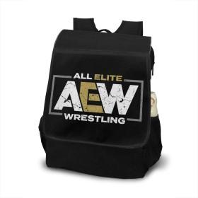 AEW All Elite Wrestling AEWレスリング リュックサック リュック バックパック ショルダーバッグ 2way ビジネスリュック 大人リュック 男女兼用 大容量 学生 通勤 通学 旅行 アウトドア 人気 メンズ レディース 兼用