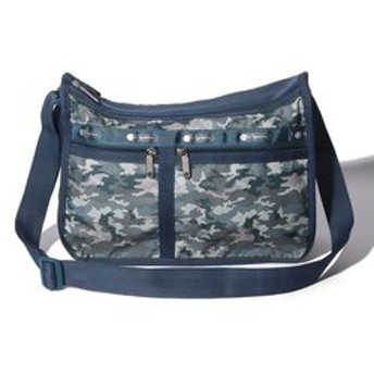 【LeSportsac:バッグ】DELUXE EVERYDAY BAG/カモブルース