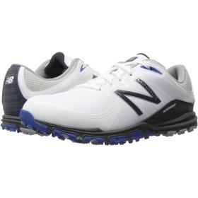 [ニューバランス] New Balance Golf メンズ NBG1005 Minimus スニーカー White/Blue US8(26cm) - D - Medium [並行輸入品]
