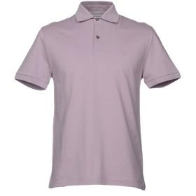 《期間限定セール開催中!》BALLANTYNE メンズ ポロシャツ ライトパープル L コットン 100%