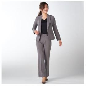 洗えてロングシーズン活躍♪お得な2パンツセットスーツ(股下72cm) (大きいサイズレディース)スーツ,women's suits ,plus size