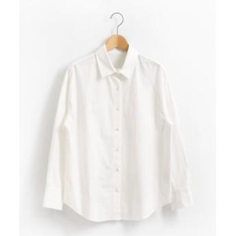 (le. coeur blanc OUTLET/ルクールブラン アウトレット)キモウコットンビッグシャツ/レディース オフ