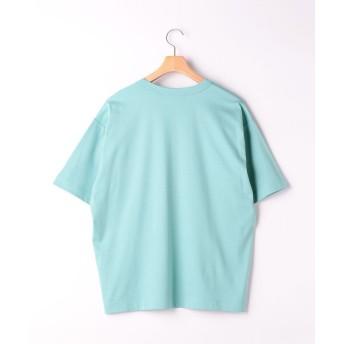 グリーンレーベルリラクシング SC ☆キシリトールCOOL クルー SS Tシャツ <機能性生地> メンズ LIME M 【green label relaxing】