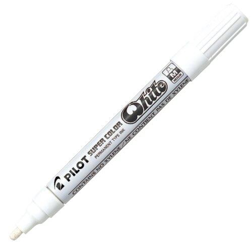 【史代新文具】百樂PILOT SC-W-M 白色 0.5mm 中型頭油漆筆