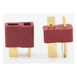 AMASS艾邁斯 AM-1015 鍍金鋰電池T型插頭 ---公頭. 母頭一對裝(含稅)【佑齊企業 iCmore】