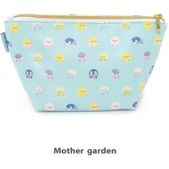 【オンワード】 Mother garden(マザーガーデン) こぴよフレンズ 舟形ポーチミント 0 0 キッズ