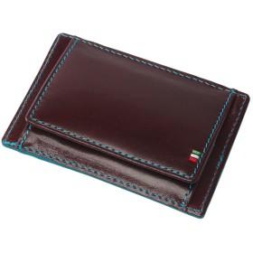 ADC イタリアンレザーカードが入るボックスコインケース(バーガンディー)【返品不可商品】