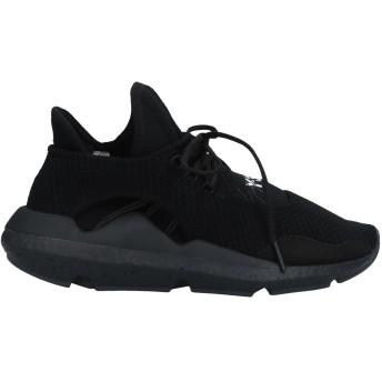 《セール開催中》Y-3 メンズ スニーカー&テニスシューズ(ローカット) ブラック 4.5 紡績繊維