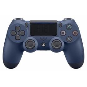 【中古】【PS4】ワイヤレスコントローラー(DUALSHOCK 4) ミッドナイト・ブルー【管理番号:473335】