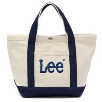 (GALLERIA/ギャレリア)Lee リー トートバッグ バッグ ミニトート レディース メンズ コンパクト 小さめ 320-330/ユニセックス ホワイト系1