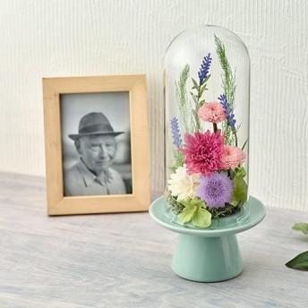 【日比谷花壇】【お供え用】プリザーブドアレンジメント「花きよか」