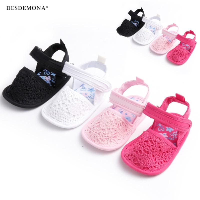 童鞋 童新款童鞋嬰幼童寶寶鞋嬰兒鞋0-1歲夏季女寶寶純色軟底嬰兒學步鞋嬰兒涼鞋 嬰兒鞋 學步鞋 童鞋