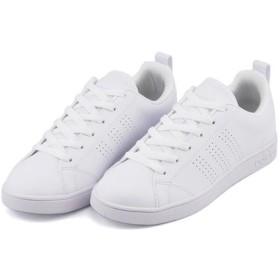 スニーカー - ASBee adidas(アディダス) VALCLEAN2(バルクリーン2) B74685ランニングホワイト/ランニングホワイト/ランニングホワイト