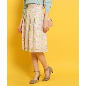 Couture Brooch(クチュールブローチ) ◆【WEB限定サイズ(SS・LL)あり】フラワープリントスカート