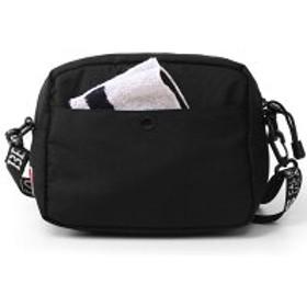 ショルダーバッグ - pinksugar ショルダーバッグ BEN DAVIS ベンデイビス BDW-9268 トラベル サブバッグ ユニセックス メンズ レディース 旅行黒赤 ミニショルダーバッグ