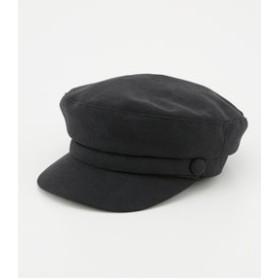 【rienda:帽子】FスエードBasicキャスケット