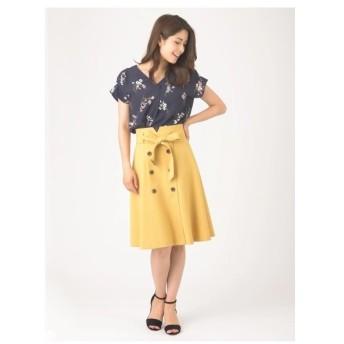Fabulous Angela(ファビュラスアンジェラ)バックゴムデザイントレンチスカート