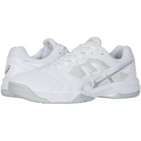 [アシックス] メンズランニングシューズ・スニーカー・靴 GEL-Dedicate 6 White/Silver 7.5 (25.5cm) D - Medium [並行輸入品]