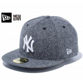 NEW ERA 59FIFTY TWEED 【NEW YORK YANKEES】 ニューエラ 59FIFTY ツィード ニューヨーク ヤンキース WHITE/BLACK