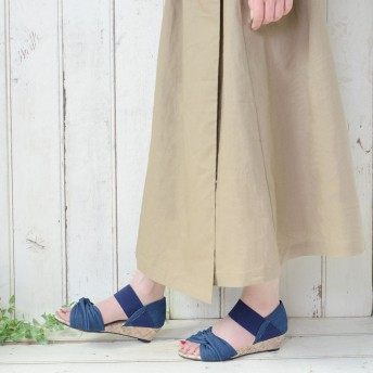 ウェッジソール - shop kilakila サンダル 厚底 ウェッジヒール ウェッジソール レディース 大きいサイズ ターバンデザイン おしゃれ かわいい 歩きやすい カジュアル春夏 レディース靴