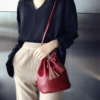 ショルダーバッグ - 腕時計アパレル雑貨小物のSP ころんとしたフォルムが可愛い おしゃれな巾着バッグ ミニショルダーバッグ きんちゃくバッグ レディースバッグ SSA02