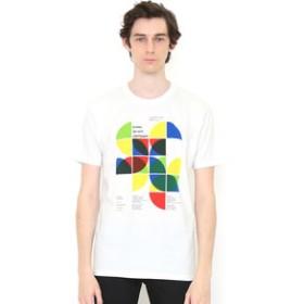 【グラニフ:トップス】グラニフ Tシャツ メンズ レディース 半袖 オーバーラップサークル