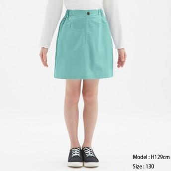(GU)GIRLSカラースカート BLUE 120