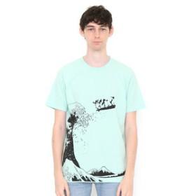【グラニフ:トップス】グラニフ Tシャツ メンズ レディース 半袖 サーフィンザグレートウェーブ