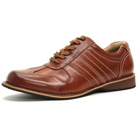 フラットシューズ - Zeal Market [LASSU & FRISS ラスアンドフリス]6ホールレースアップコンフォートシューズ 541ウォーキング メンズ 靴