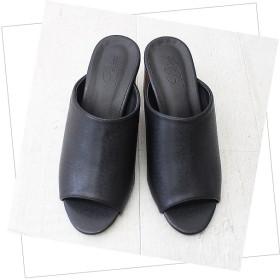 ミュール - AmiAmi オープントゥ美脚ミュールサンダル レディース 太ヒール チャンキーヒール サボ オープントゥ 歩きやすい 安定感疲れにくいヒールハイヒール 黒 ブラックシルバー 靴