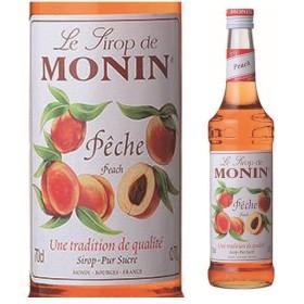 モナン ピーチ シロップ 700ml 桃 もも ノンアルコールシロップ 割り材 フランス 長S