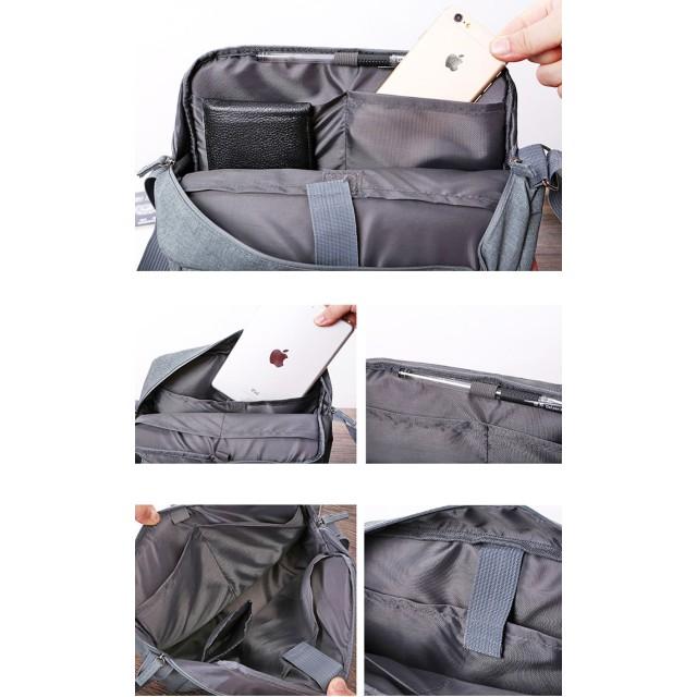 トラベルバッグ - Gain-Mart 多機能 旅行バッグ ショルダーバッグ 鞄 バッグ 旅行 トラベル 男女兼用 ポリエステル ローズ ネイビーダークグレーライトグレー ライトブルー オレンジ