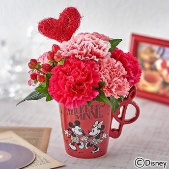 【日比谷花壇】ディズニー アレンジメント「ミッキー&ミニー クレ・ドゥ・ソル」