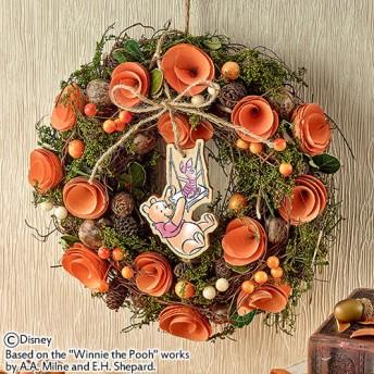 【日比谷花壇】ディズニー リース「くまのプーさん スウィング リース」