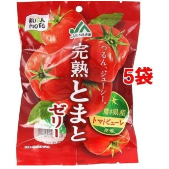 モントワール JA熊本経済連 完熟とまとゼリー ( 22g6個5袋セット )